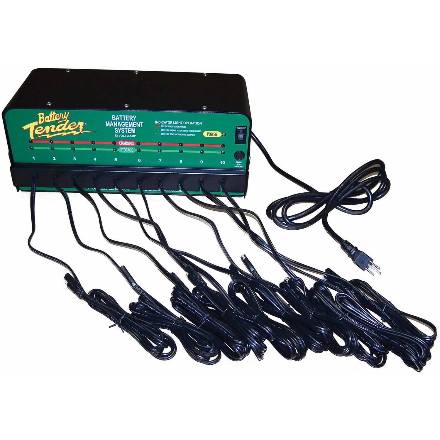 10 Bank Charger 12V @ 2A by Battery Tender
