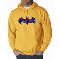 631 - Hoodie Batman Dark Knight Galaxy Logo Parody Sweatshirt