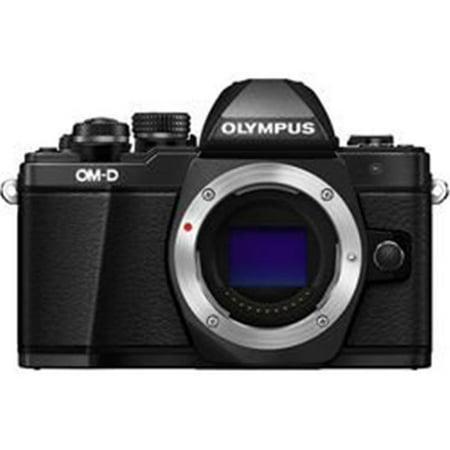 Olympus America V207050BU000 OMD EM10 Mark II Mirrorless Micro Four Thirds Digital Camera, Black