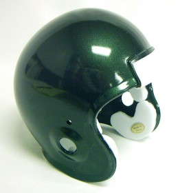 Micro Football Helmet Shell - Midnight Green