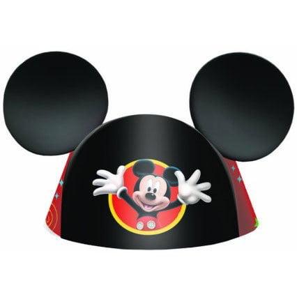 Mickey Ear Cone Hat 8pk