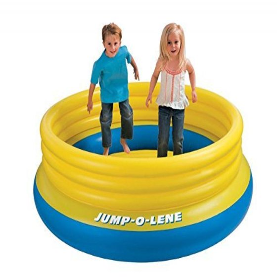 598705669 Intex Jump-o-lene Bouncer Inflatable Ball Pit Bounce House - Walmart.com