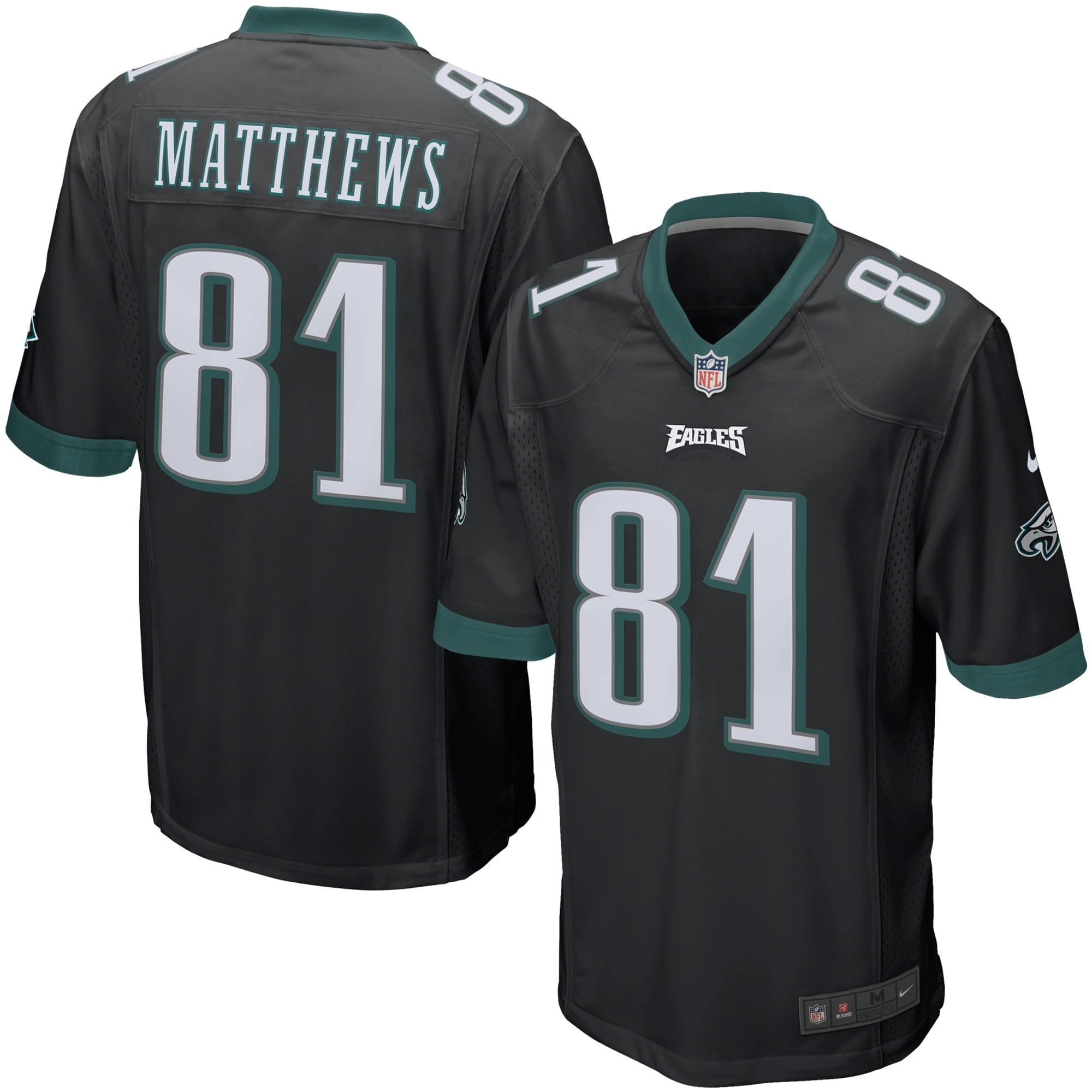 Jordan Matthews Philadelphia Eagles Nike Youth Alternate Game Jersey - Black - Walmart.com