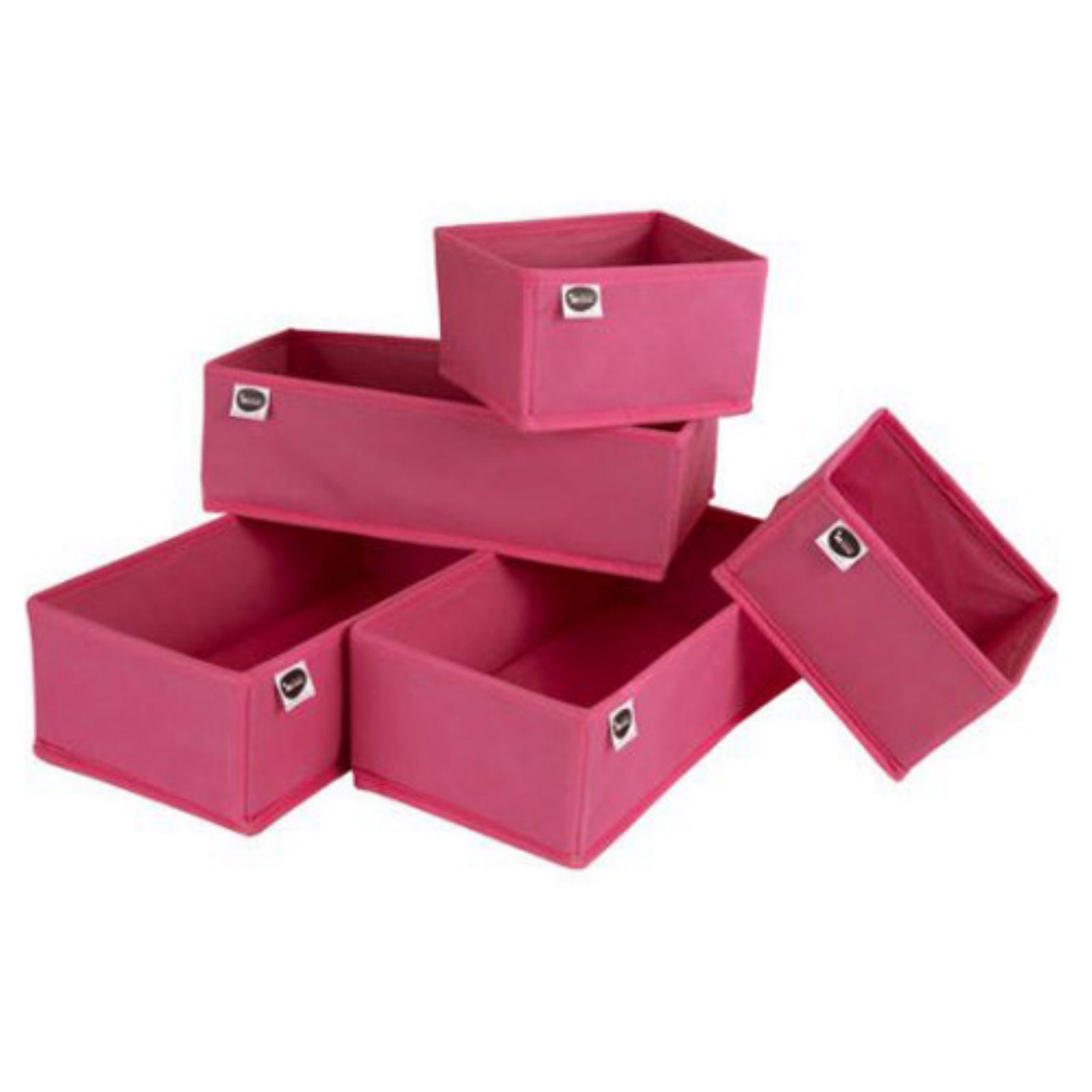South Shore 5-Piece Drawer Organizers, Multiple Colors