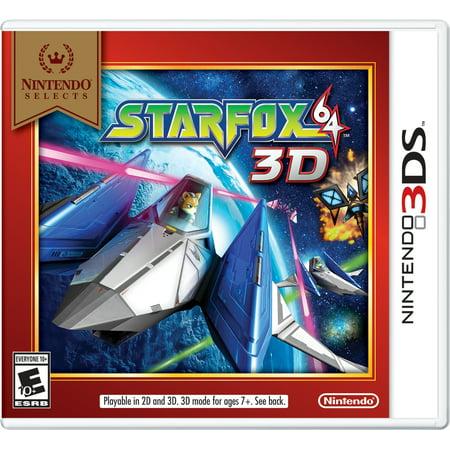 Nintendo Selects: STARFOX 64 3D, Nintendo 3DS, 045496745226 (Fur Nintendo 64)