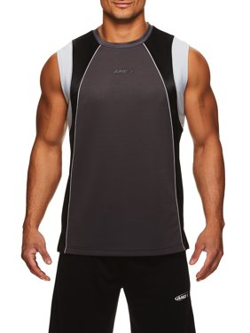AND1 Men's Exile Sleeveless Jersey, up to 2XL
