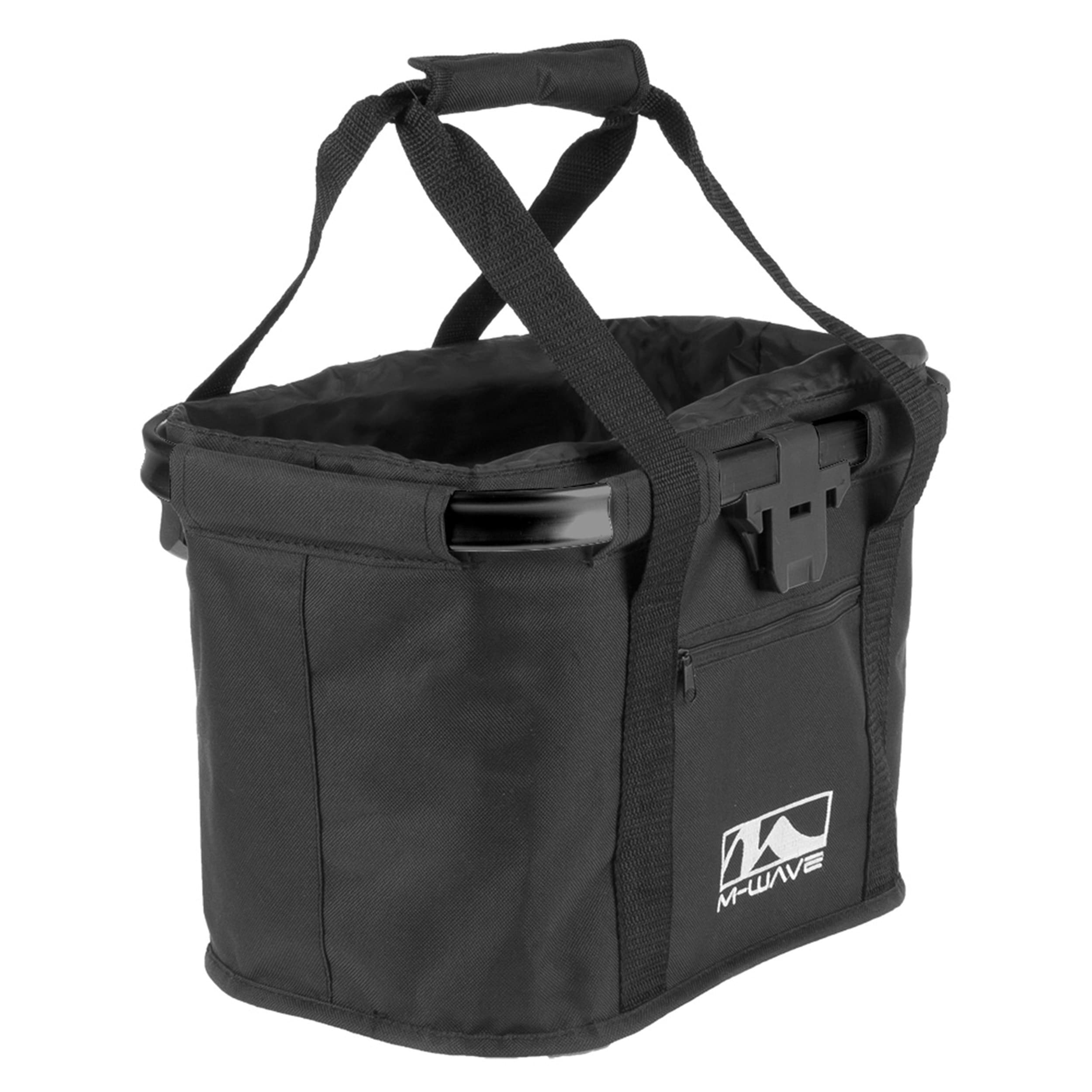 Ventura Utrecht Black Folding Handlebar Bag