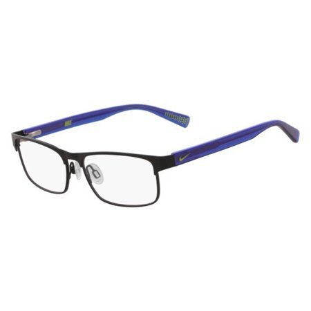 Nike NIKE 5574 Eyeglasses 002 Black/Racer Blue Nike NIKE 5574 Eyeglasses 002 Black/Racer Blue