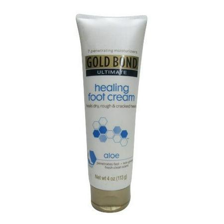 Paquet de 2 Gold Bond ultime guérison Crème pour les pieds Aloe 4 Oz Chaque