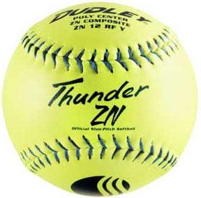 "Dudley 12"" USSSA Thunder ZN ""Classic M"" SP Ylw Composite .40/325 Doz 4U-540Y-DZ"