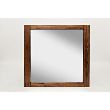 Jofran Coolidge Corner Mirror in Brown