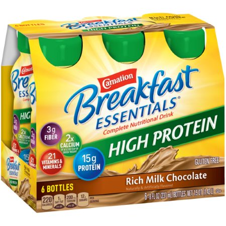 Carnation Breakfast Essentials High Protein Ready to (Natural High Breakfast)
