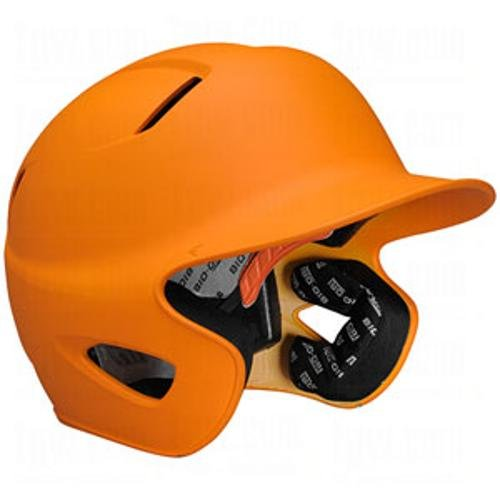 "Easton Stealth Grip Orange Batting Helmet Fits 6-3/4"" - 7-1/2"""