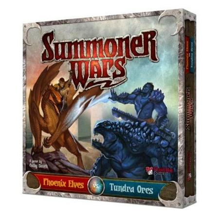 Summoner Wars: Phoenix Elves vs Tundra Orcs