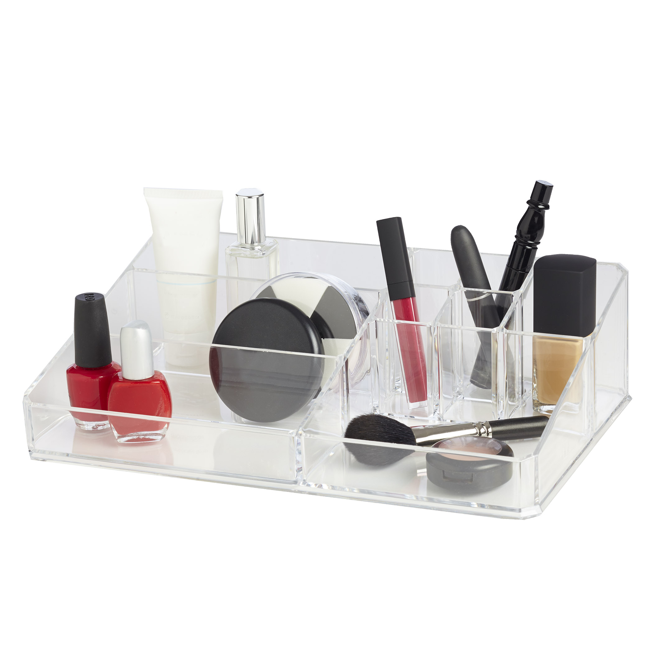 Clearly Chic 9 Compartment Cosmetic Organizer