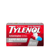 Tylenol Extra Strength Acetaminophen Rapid Release Gels, 24 ct