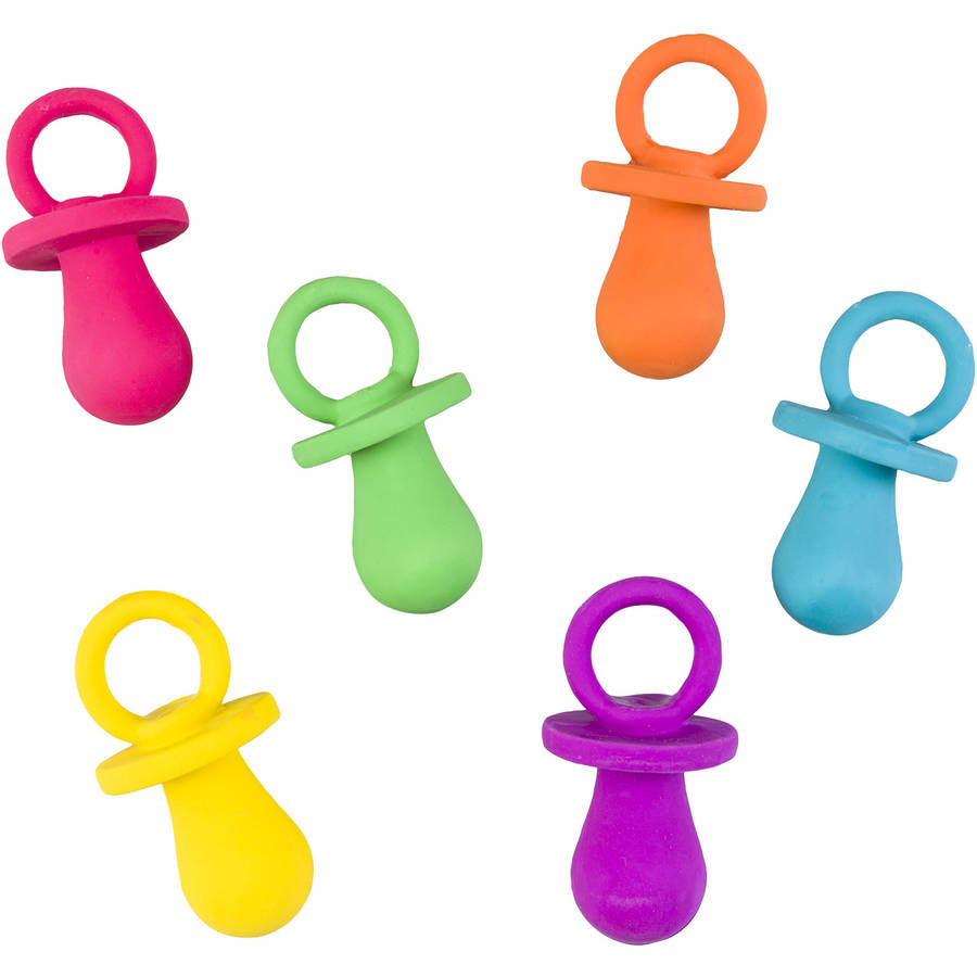 "Spot 03621 4.5"" Puppy Pacifier, Assorted Colors"