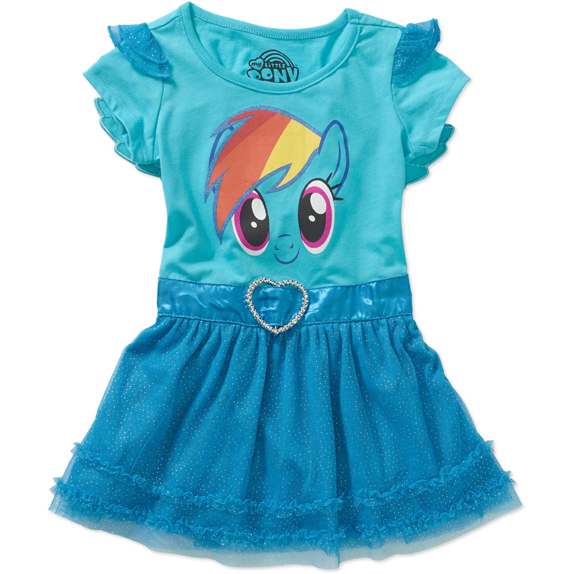 "My Little Pony ""Rainbow Dash"" Toddler Girl Winged Tunic"