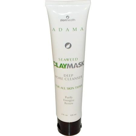 Zion Health  Seaweed Clay Mask  4 fl oz  120 ml