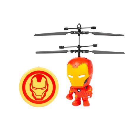 Marvel 3.5 Inch Iron Man Flying Figure IR Helicopter