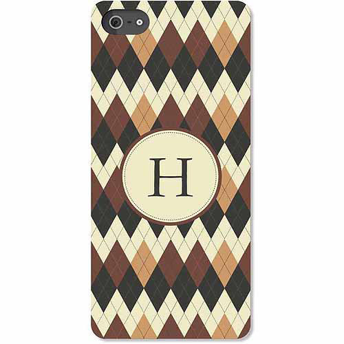 Personalized Argyle iPhone 5 Case
