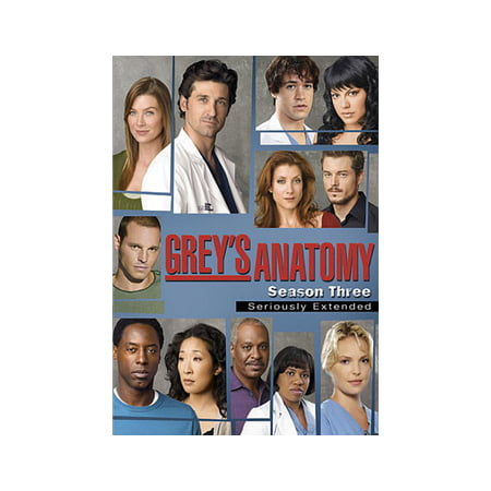 Grey's Anatomy: Season 3 - Seriously Extended Edition (DVD ...