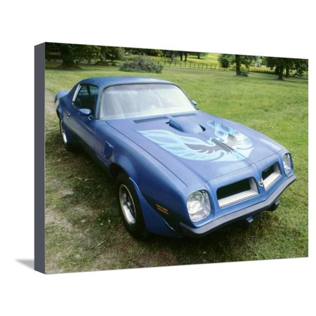 1974 Pontiac Trans AM 455 Super Duty Stretched Canvas Print Wall
