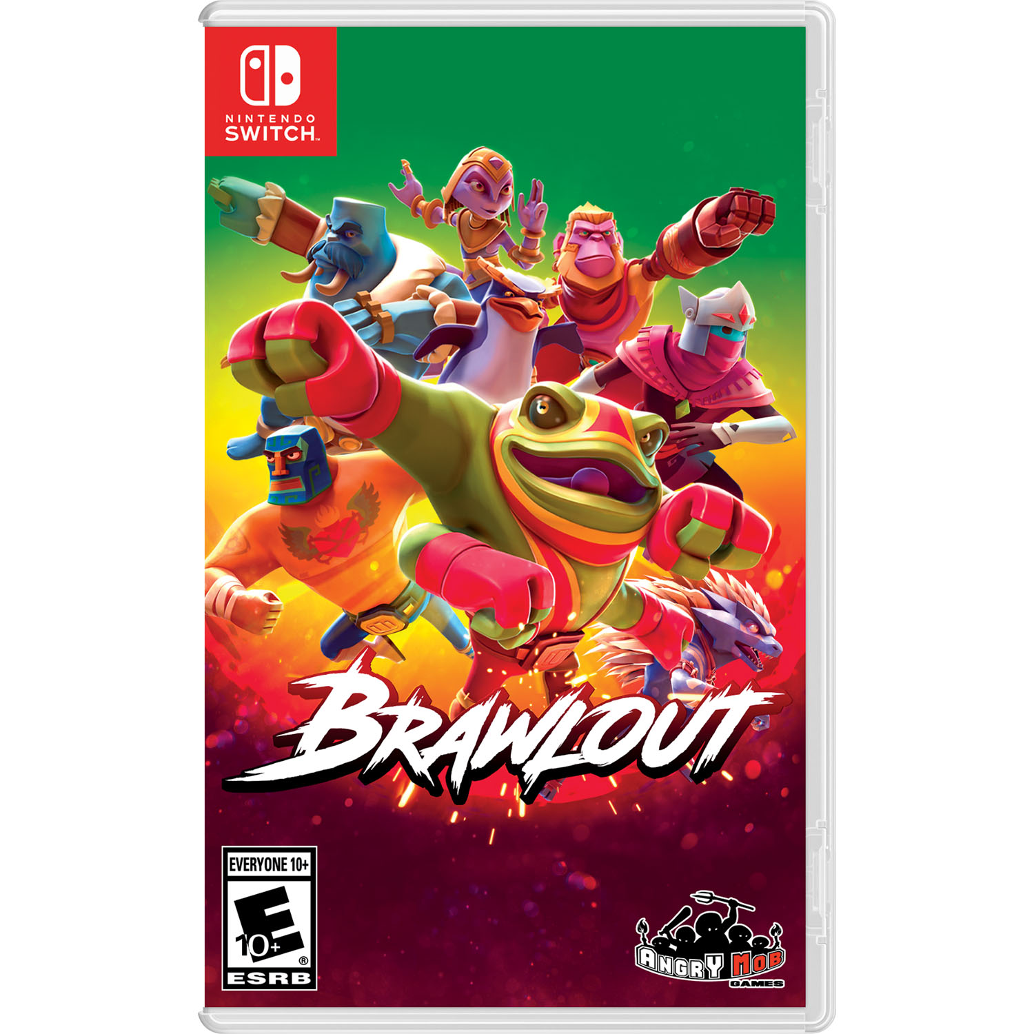Brawlout, Merge Games, Nintendo Switch, 819335020160