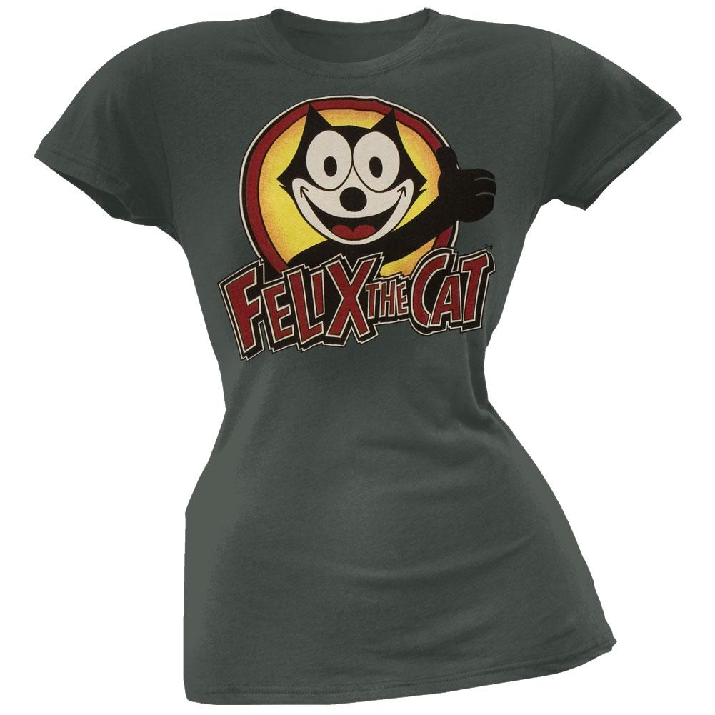 Felix The Cat - Logo Juniors T-Shirt