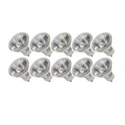 eTopLighting (10) Bulbs, GU10 Halogen Bulb 120V 35W GU10 Halogen Light Bulb, 120 Volt 35 Watt GU10 Halogen Bulb Lamp