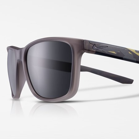 Nike Essential Endeavor SE Matte Gunsmoke & Dark Gray Sunglasses - EV1117-010