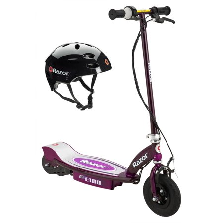 Razor E100 Electric Motor Powered Girls Scooter (Purple) & Youth Sport