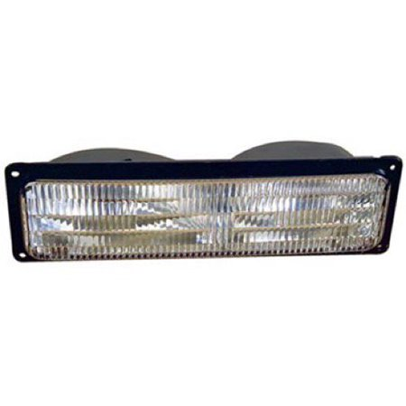 Go-Parts OE Replacement for 1994 Chevrolet Blazer Parking Light Assembly / Lens Cover - Right (Passenger) Side 5976838 GM2521128 Replacement For Chevrolet Blazer 1994 Chevrolet Blazer Parts
