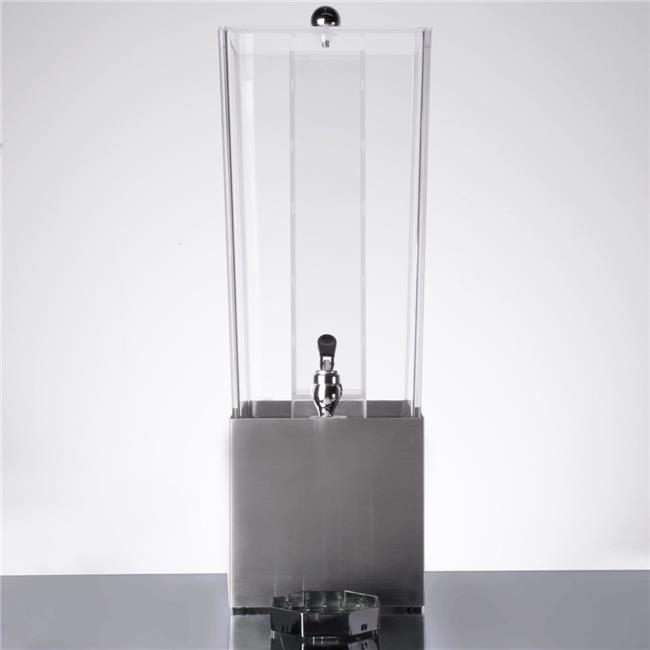 Cal Mil 3324-3INF-55 Econo 3 gal Infusion Crate Beverage Dispenser - Stainless Steel - image 1 of 1