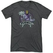 Masters Of The Universe Skeletor Mens Tri-Blend Short Sleeve Shirt