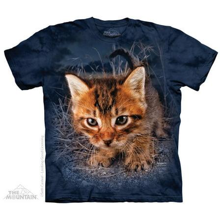 Pounce Captain Snuggles The Mountain Adult Size T Shirt Blue