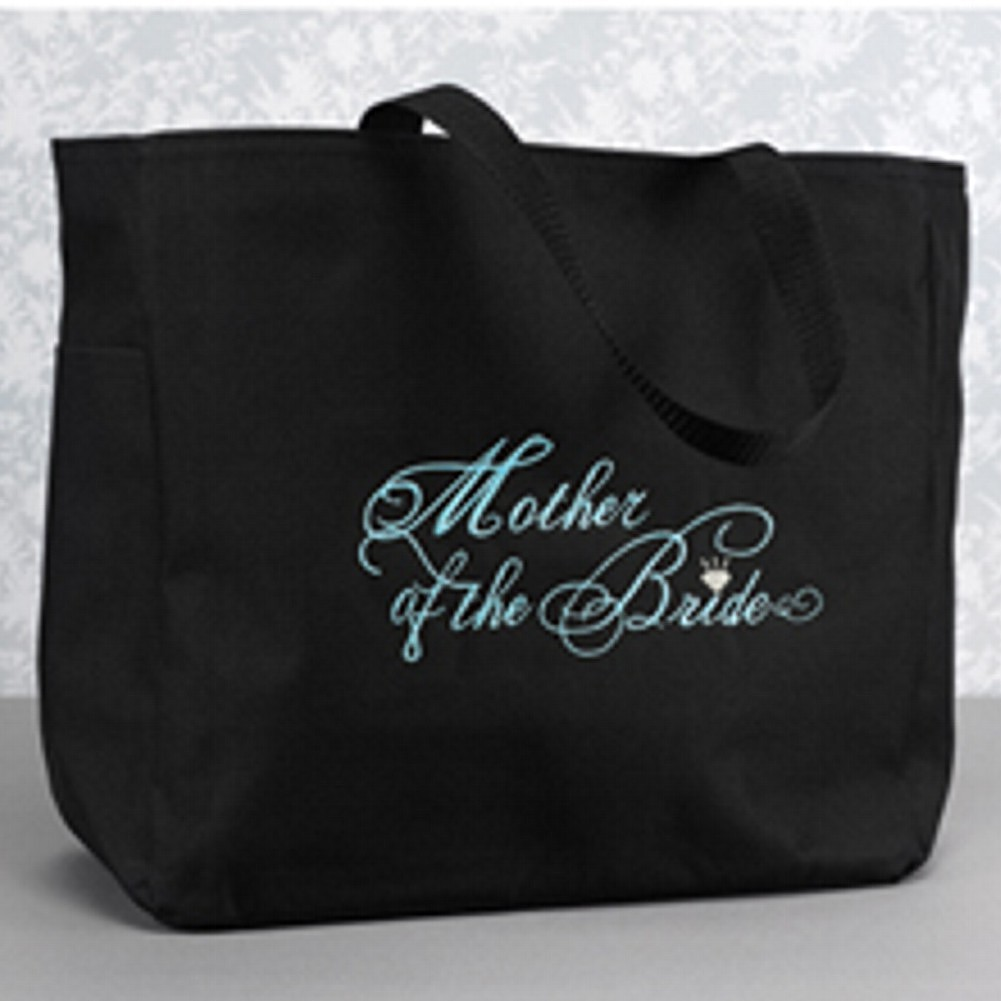 HBH Mother of the Bride Black Tote Bag