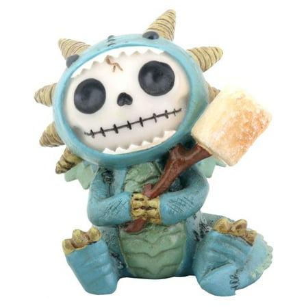 72 Dragon - Furry Bones Scorchie Dragon Statue
