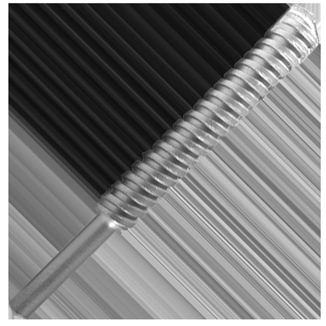 Carbide Tipped Fast Spiral Masonry Drill - 1 dia. x 0.50 Shank dia. x 6 OAL - Series D88