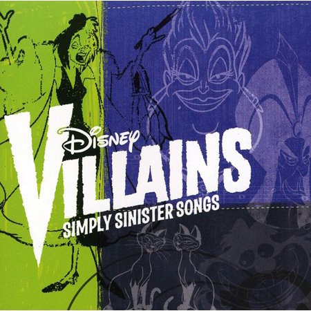 Disney Villains: Simply Sinister Songs (CD) - Disney World Halloween Songs