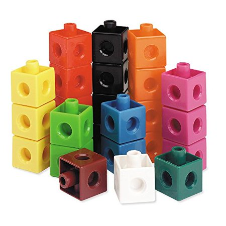 Learning Resources Bundle with Mathlink Cubes and Snap (Snap Cubes)