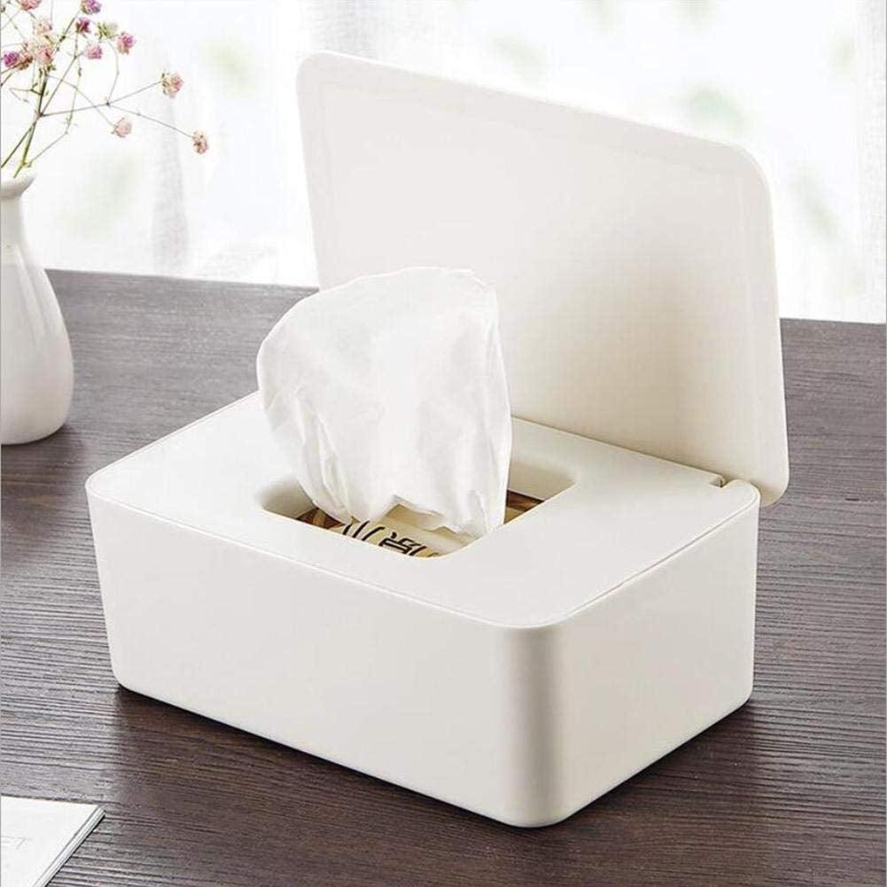 Tissue Box Toilet Paper Cover Case Napkin Holder Dispenser Home Bar Car