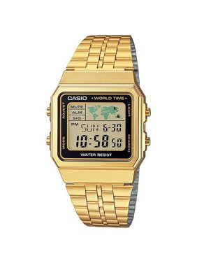 2f245a58aec2 Product Image Gold- Tone Digital Retro Alarm Chronograph Men s Watch