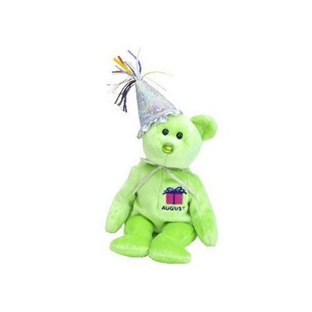 Ty Original Beanie Baby Happy Birthday (August) By The Birthday Beanies  Collection - Walmart.com 0391176e036