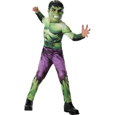 Child's Boys Marvel Comics Avengers Assemble Hulk - She Hulk Costume