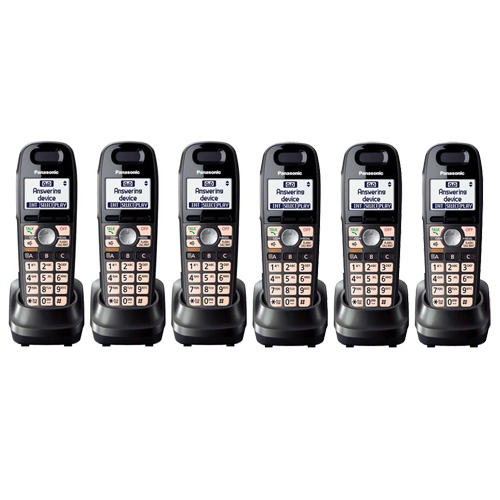 Panasonic KX-TGA659T (6-Pack) Panasonic KX-TGA659T