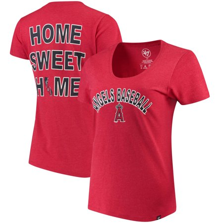 Halloween Club Events Los Angeles (Los Angeles Angels '47 Women's Club Scoop Neck T-Shirt -)