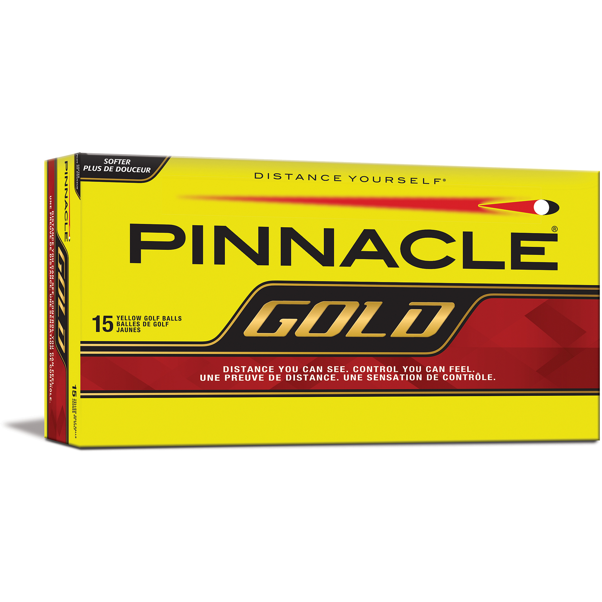 Pinnacle Gold Golf Balls, Yellow