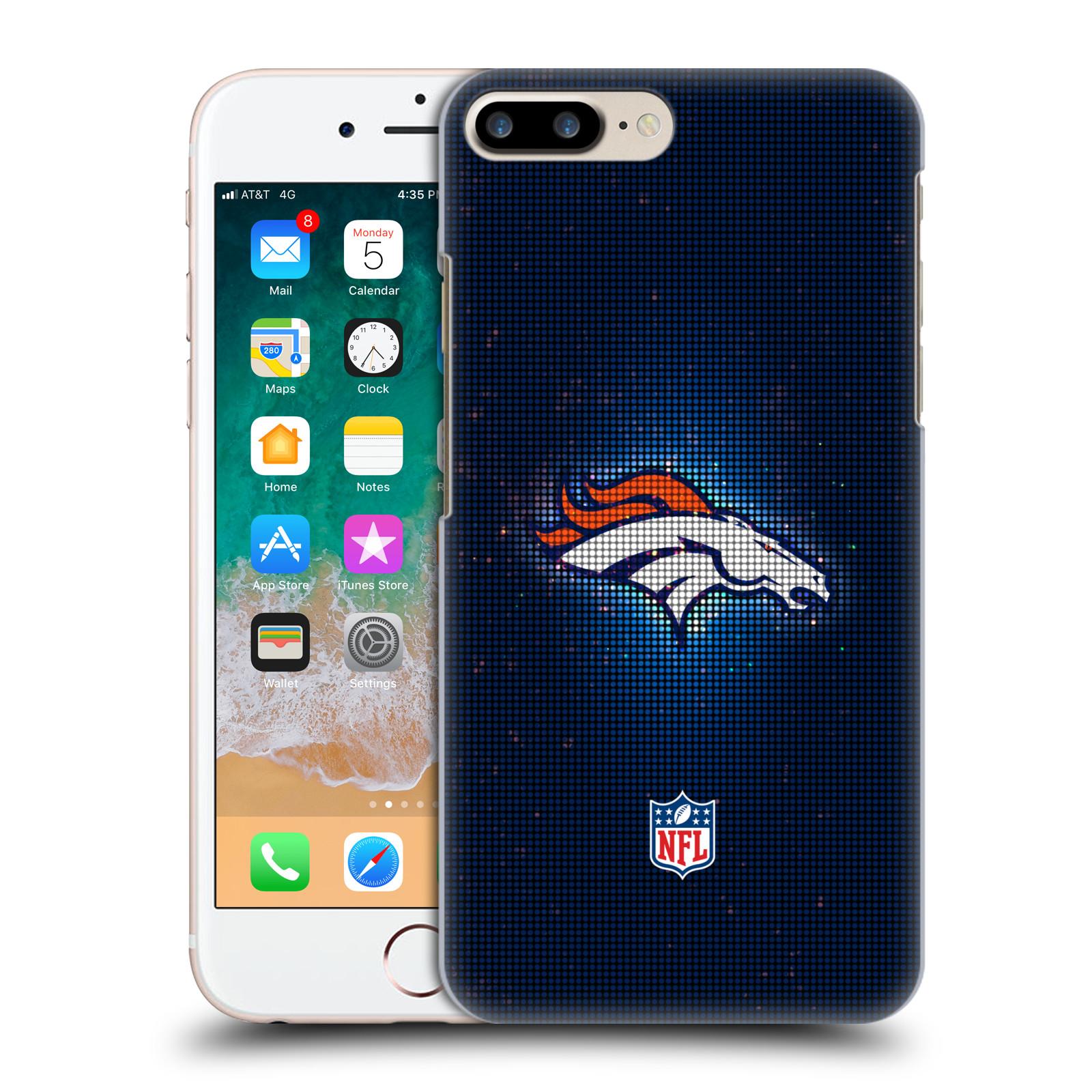 OFFICIAL NFL 2017/18 DENVER BRONCOS HARD BACK CASE FOR APPLE IPHONE PHONES