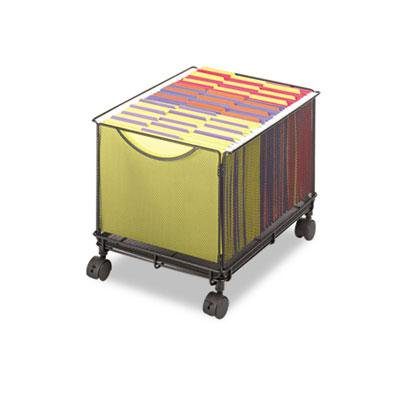 - Safco Onyx Mesh Mobile File Cube